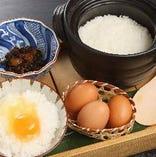八代目儀兵衛の厳選米を使用した〆の銀シャリは至極のひと椀。