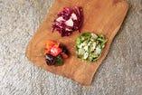3種のデリ野菜盛り合わせ