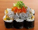 しらすのっけ寿司