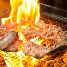 看板メニュー★骨付きカルビ炭火焼き