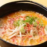 濃厚海老出汁スープの炊き餃子