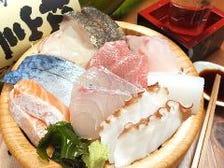 新鮮な瀬戸内海の魚を堪能できる