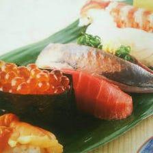 カウンター越しのライブ感溢れる寿司