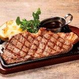 アンガス牛サーロインステーキ ライスorパン