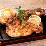知床鶏のグリル【北海道】
