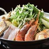 鮮魚寄せ鍋