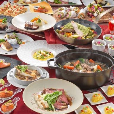 ホテルロイヤルクラシック大阪 レストラン ユラユラ コースの画像
