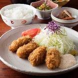 【季節限定】広島県産カキフライ定食