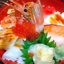 贅沢ランチ海鮮吾作丼 1200円+税