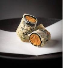 「うにの天ぷら」は名物
