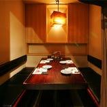 宴会、接待、少人数飲み会に テーブル個室