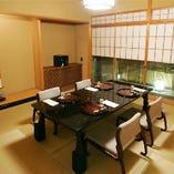 【弥生】格式高い和室は、接待や会食のおもてなしに