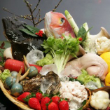 長年のお付き合いで築地から良質な鮮魚が仕入れられます