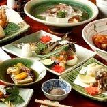 利休コース~11皿~《お料理のみ、接待・ご会食に》
