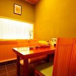 【3~4名様】テーブル式和個室