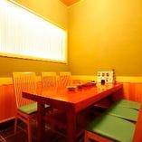 【5~6名様】テーブル式和個室