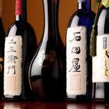 幻といわれる限定品、石田屋・ 仁左衛門などの銘酒もございます