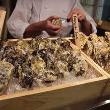厳選された牡蠣