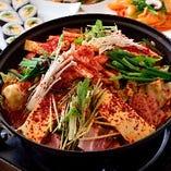 ソウルのお料理は辛さが選べます!