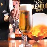【ビールのうまさは泡から】プレミアム達人店認定!神泡ビール