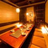 ◇◆鶏心 江坂店 個室紹介 ご宴会にぴったりの掘りごたつ個室◆◇