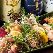 【歓送迎限定】3時間飲み放題+全10品『鶏心コース』¥5,100円⇒¥4,000円