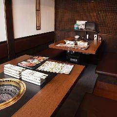 【半個室】BOX掘りごたつ席(最大10名様)