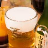 生ビールはザ・プレミアム・モルツ