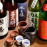 料理との最高の組み合わせを求め九州をはじめ全国各地から仕入れ