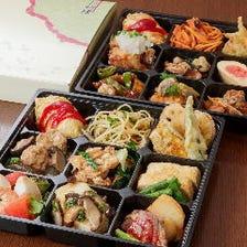 新スタイルのコースで①お持ち帰りと②店内飲食を上手に使い分ける多様化する今の食事会をバックアップ!