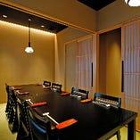 【2階/テーブル個室】近江牛・京の逸品・鍋を囲んでごゆるりとお過ごしください