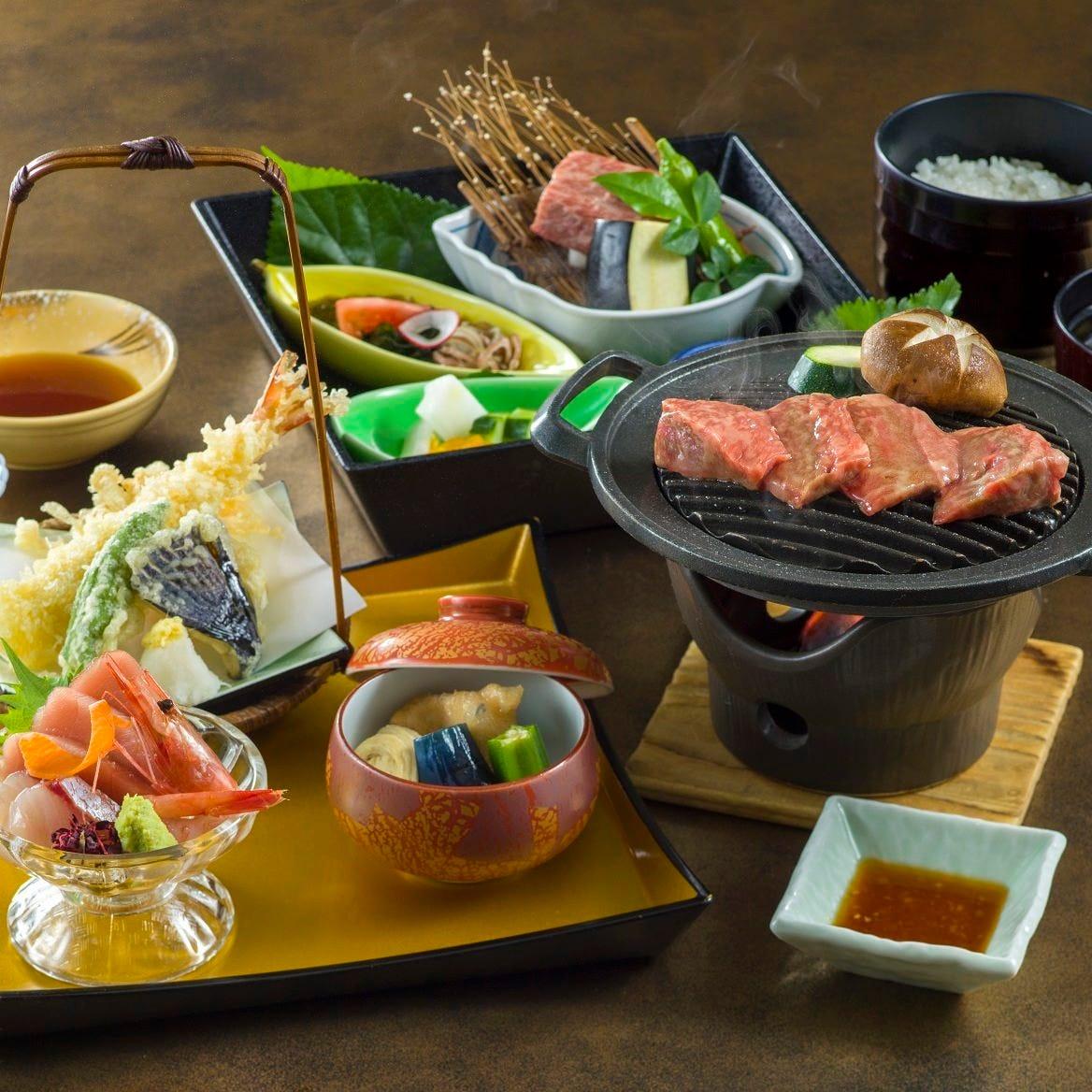 栃木県の穏やかな風土が 織り成す食材を味わう御膳料理