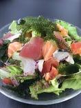 魚升海戦サラダ