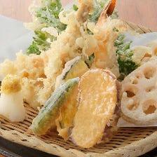 天ぷら七種盛り合わせ
