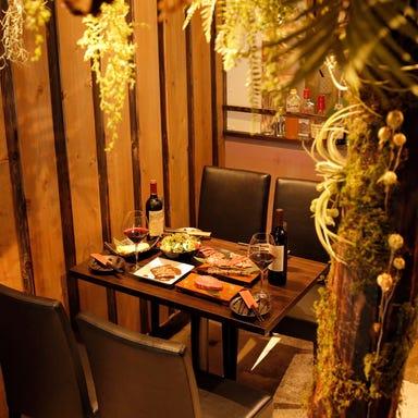 ソムリエ厳選ワイン ビストロ 肉JUN‐ニクジュン‐ 店内の画像