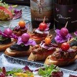 ◆独創的なピンチョス◆ バスク・サンセバスチャンの名物料理