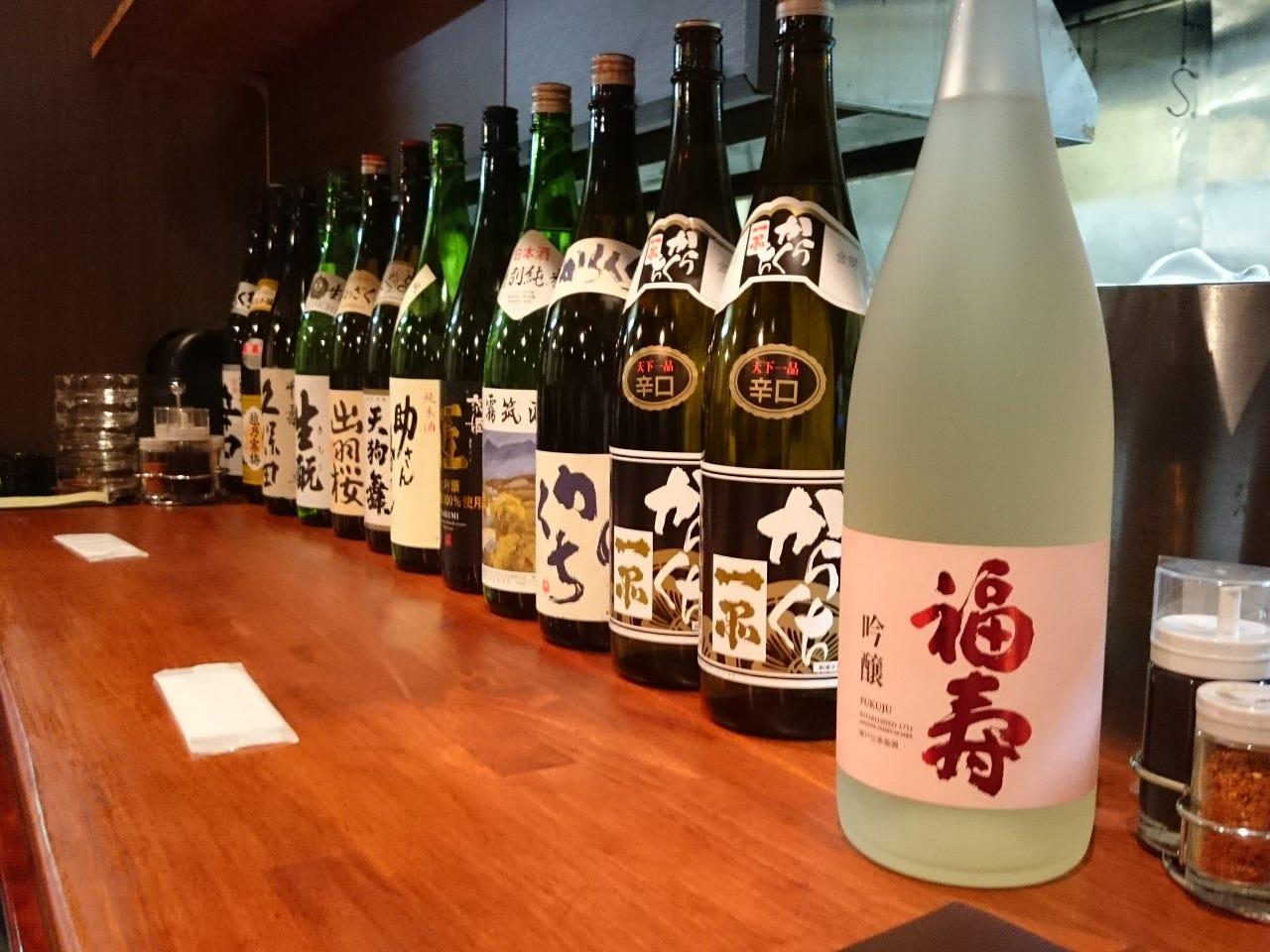 ☆日本各地のこだわり日本酒☆