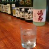 ロックで日本酒!