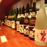 各地の日本酒をご用意!
