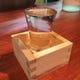 日本酒はお席にて、すりきりいっぱいおつぎします(^o^)