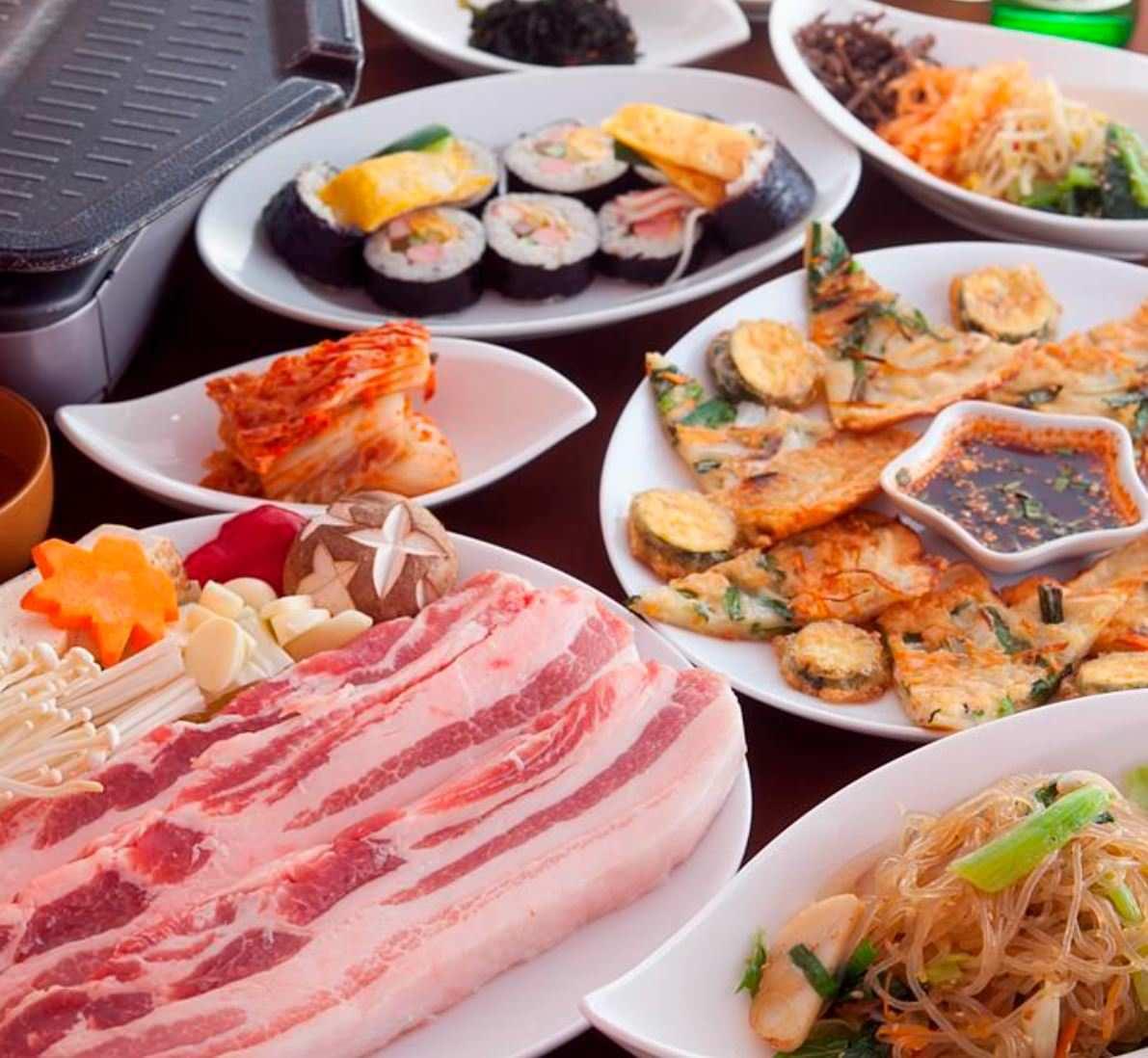 韓国家庭料理・焼肉 明洞