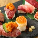 肉寿司10貫盛り合わせ