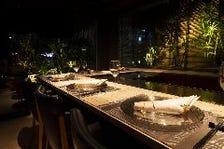 ディナー後は完全会員制バーで愉しむ