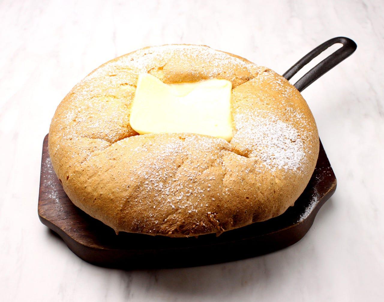 焼きたて 台湾カステラパンケーキ