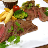 特選赤身肉ステーキ