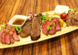牛肉食べ比べ4種盛り