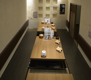 フライと串焼き どんべえ 土浦店 店内の画像