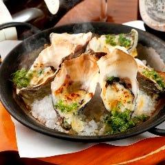 牡蠣の香草チーズオーブン焼き