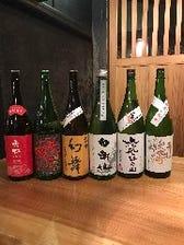 こだわりの珍しい日本酒ございます!