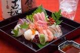 毎日仕入れる鮮魚&富山港より取り寄せる焼き魚